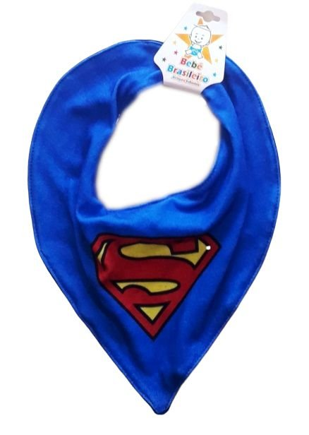 Babador Bandana Bebê Superman