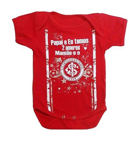 """Body Internacional """"2 Amores"""" Vermelho Oficial"""