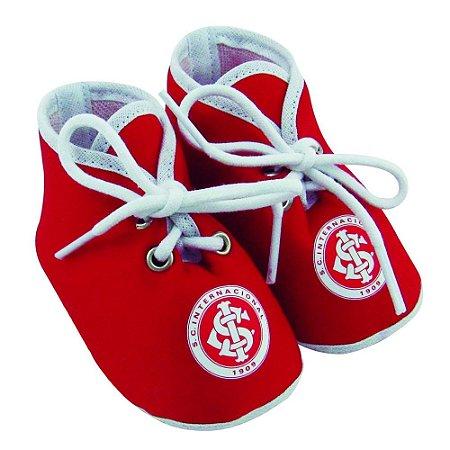 Chuteirinha Bebê Internacional Vermelha Oficial