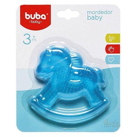 Mordedor Bebê com Água Cavalinho Azul Buba