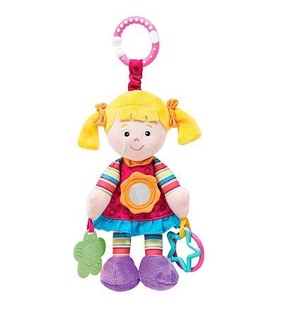 Boneca de Pelúcia Juju Atividades 20 Cm Buba