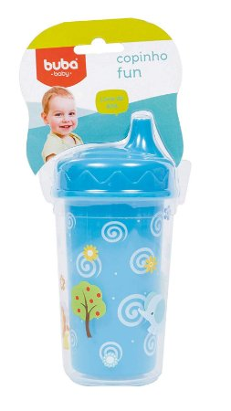 Copinho Fun Baby Azul Buba 300 Ml