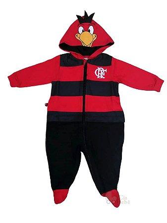 Macacão Bebê Flamengo Mascote Oficial