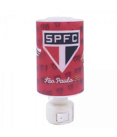 Luminária Abajur Led São Paulo FC Oficial