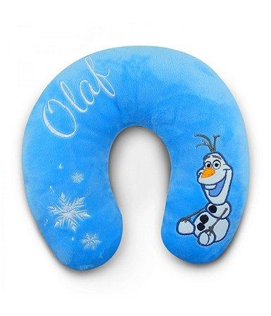 Almofada de Pescoço Azul Olaf Frozen