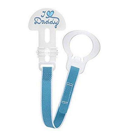 Prendedor De Chupeta Mam Cristal Clip It! Boys Azul