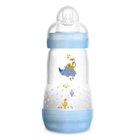 Mamadeira First Bottle 260 Ml Mam - Azul