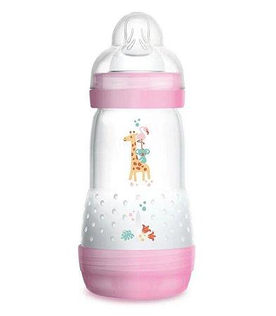 Mamadeira First Bottle 260 Ml Mam - Rosa