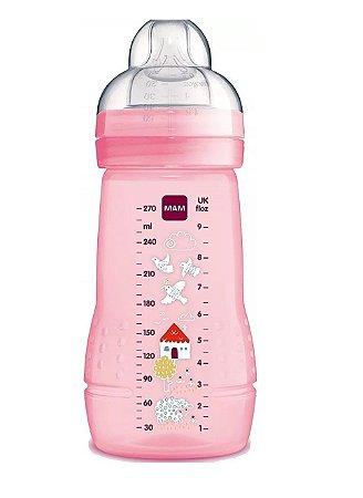 Mamadeira Mam Fashion Bottle - 270ml Rosa