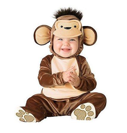 Fantasia Bebê Macaco