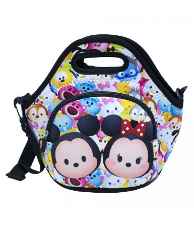 Bolsa Térmica Colorida Mickey Minnie 25x28cm - Disney
