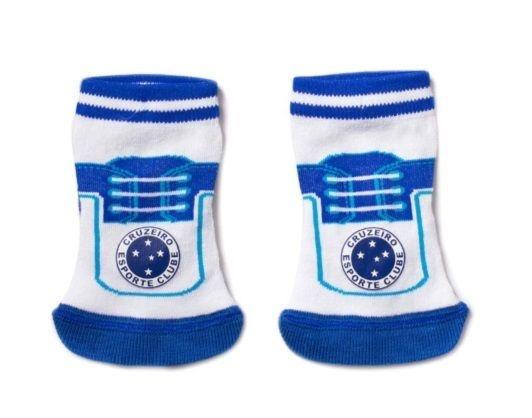 Meia Tênis Bebê Cruzeiro Revedor