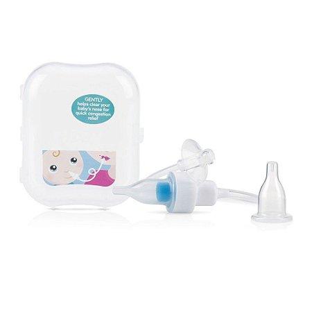 Aspirador Nasal Bebê Com Filtro e Estojo Nûby