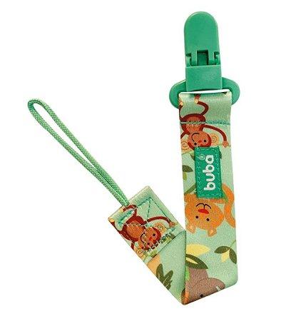 Prendedor De Chupeta Safari Verde Buba
