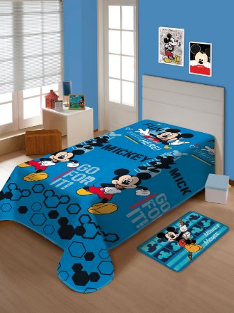 Manta Soft Infantil Disney Mickey Mouse Jolitex