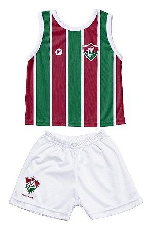 Conjunto Fluminense Bebê Regata - Torcida Baby