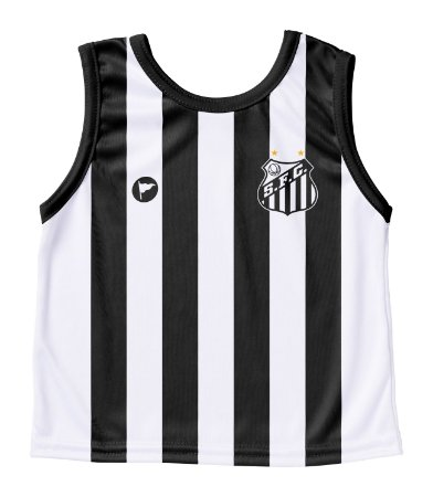 Camiseta Santos Infantil Regata- Torcida Baby