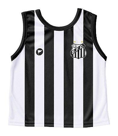 Camiseta Santos Bebê Regata - Torcida Baby