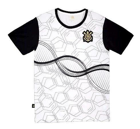 Camiseta Infantil Corinthians Branca DNA Oficial