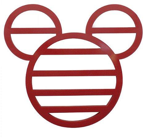 Descanso De Panela Silicone Mickey