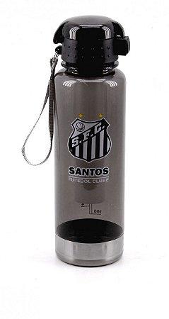 Garrafa De Plástico Com Tubo Congelante Santos 750ml