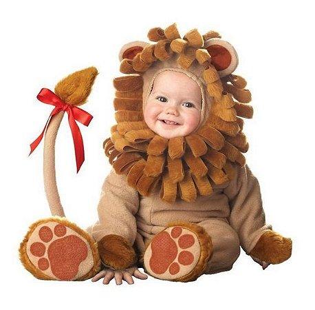 Fantasia Bebê Leãozinho Plush