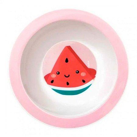 Pratinho Infantil Frutti Bowl Melancia Buba
