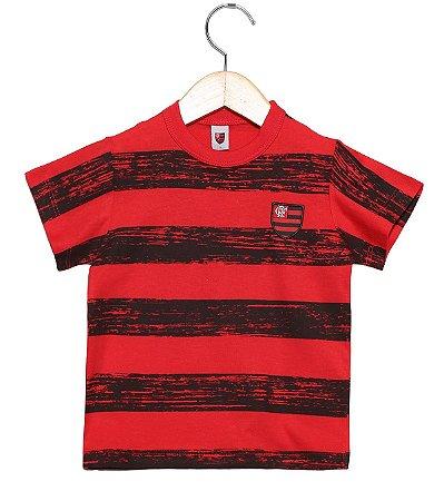 Camiseta Bebê Flamengo Listras Revedor