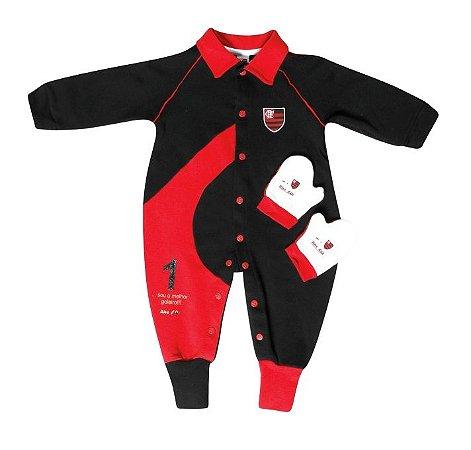 Macacão Bebê Goleiro Flamengo Revedor