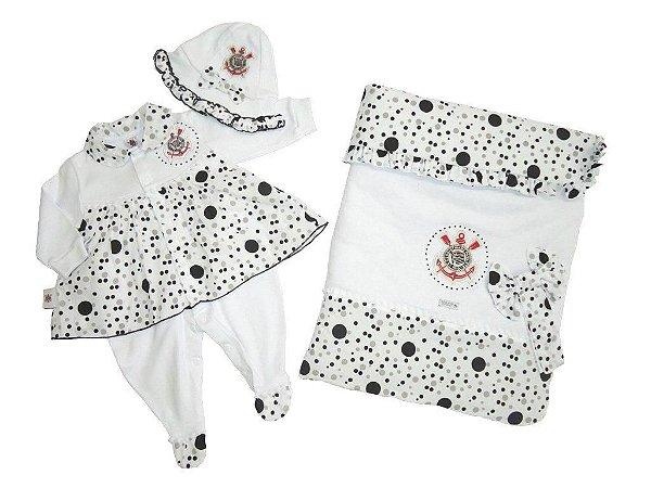 Kit Maternidade Corinthians Luxo Meninas Revedor