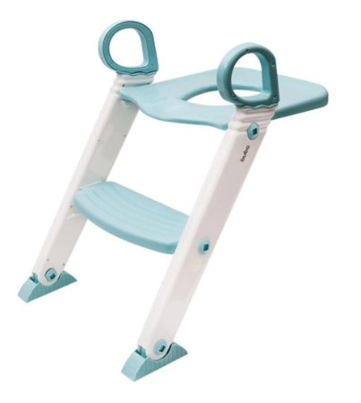 Assento Redutor Infantil Azul com Escada Buba