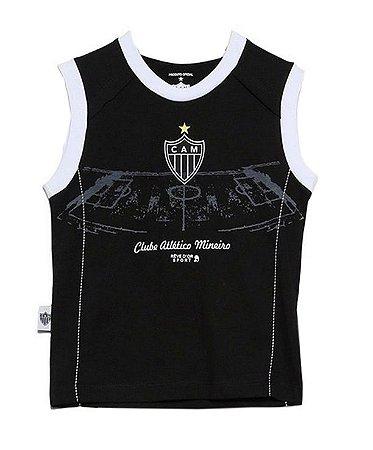 Camiseta Infantil Atlético MG Regata Board Oficial