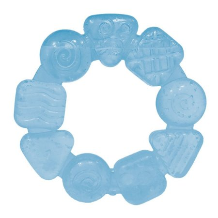 Mordedor Bebê Multi Formas Azul - Buba