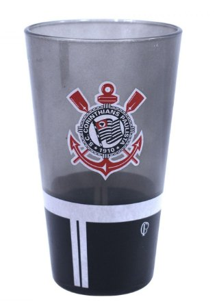 Copo de Vidro Grosso 475Ml - Corinthians Oficial