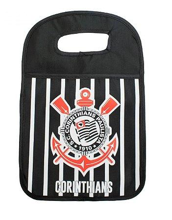 Saquinho de Lixo Listrado Para Carro Corinthians Oficial