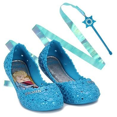 Sapatilha Infantil Frozen Let It Azul Grendene