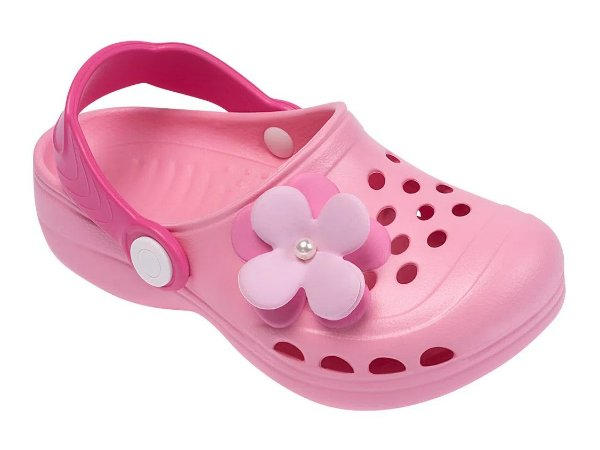 Sandália Babuche Infantil Rosa - Pimpolho