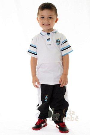 Camisa Polo Infantil Grêmio Revedor