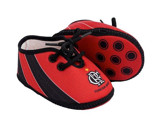 Chuteira Bebê Flamengo Torcida Baby
