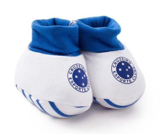 Meia Pantufa Bebê Cruzeiro Oficial