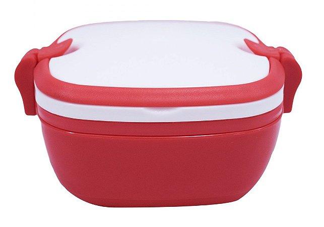 Marmita Vermelha de Plástico