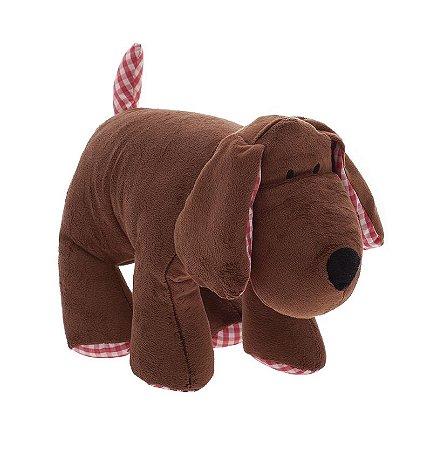 Meu 1° Puppet Cachorro Marrom Zip