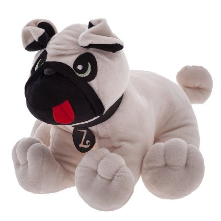 Pelúcia Cachorro Pug Zé Zip