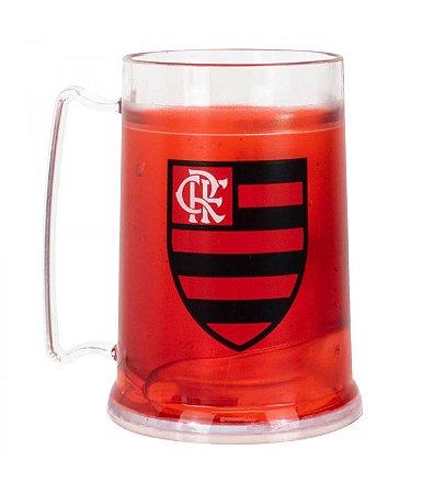Caneca Gel Isolante Térmico 300ml Flamengo Oficial