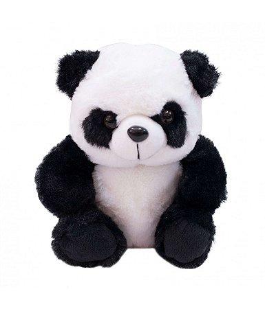 Pelúcia Ursinho Panda Sentado 20cm