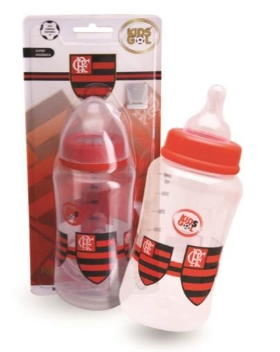 Mamadeira Acinturada Super Kids Gol Flamengo 360 Ml