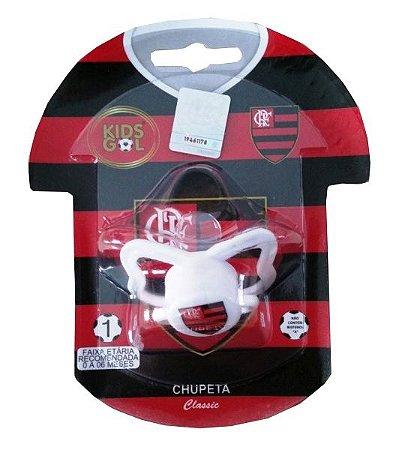 Chupeta Flamengo Classic Orto S1 Kids Gol