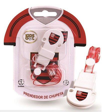 Prendedor de Chupetas Flamengo Kids Gol