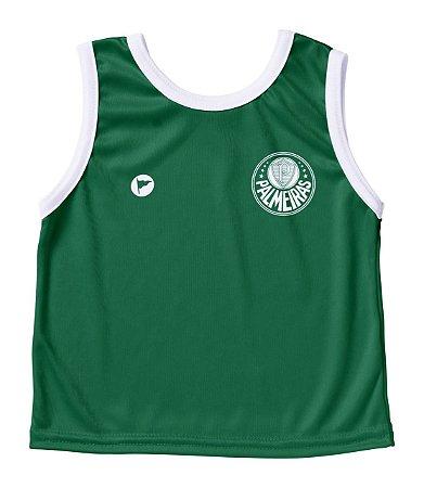 Camiseta Palmeiras Bebê Regata- Torcida Baby
