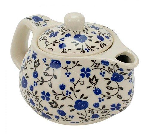 Bule Em Porcelana Para Chá Com Infusor 250ml